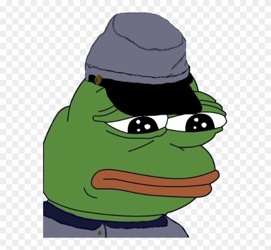 Feels Bad Man Sad Frog Neo Nazi Pepe Transparent Clipart