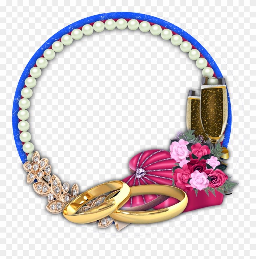 Jewelry Clip Bracelet - Wedding Frames Png Transparent Png