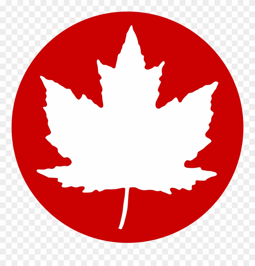 Open Canadian Maple Leaf Png Clipart 1776551 Pinclipart