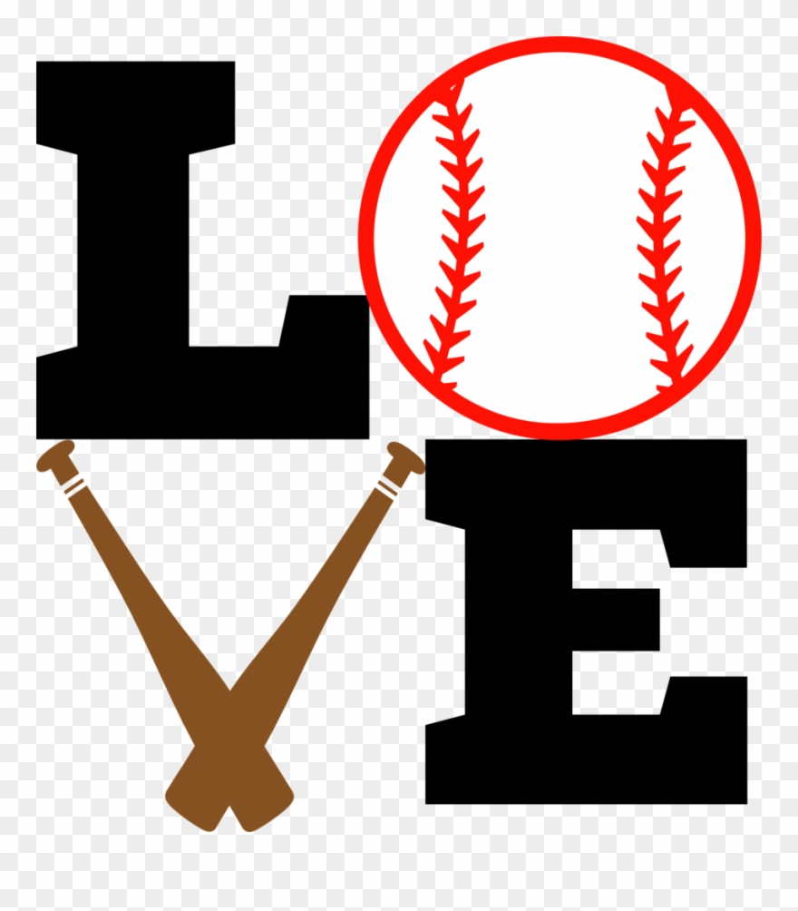 Love Baseball Bat And Ball Albb Blanks Png Free Stock Visual