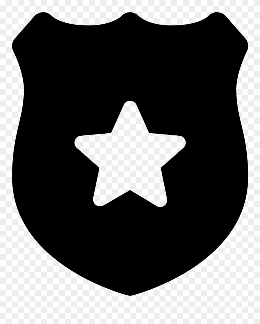 Police Badge Icon - Discord Server Logo Size Clipart