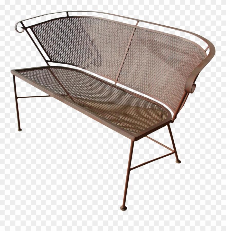 Mid Century Mesh Patio Sofa Chair Furniture Chair Clipart