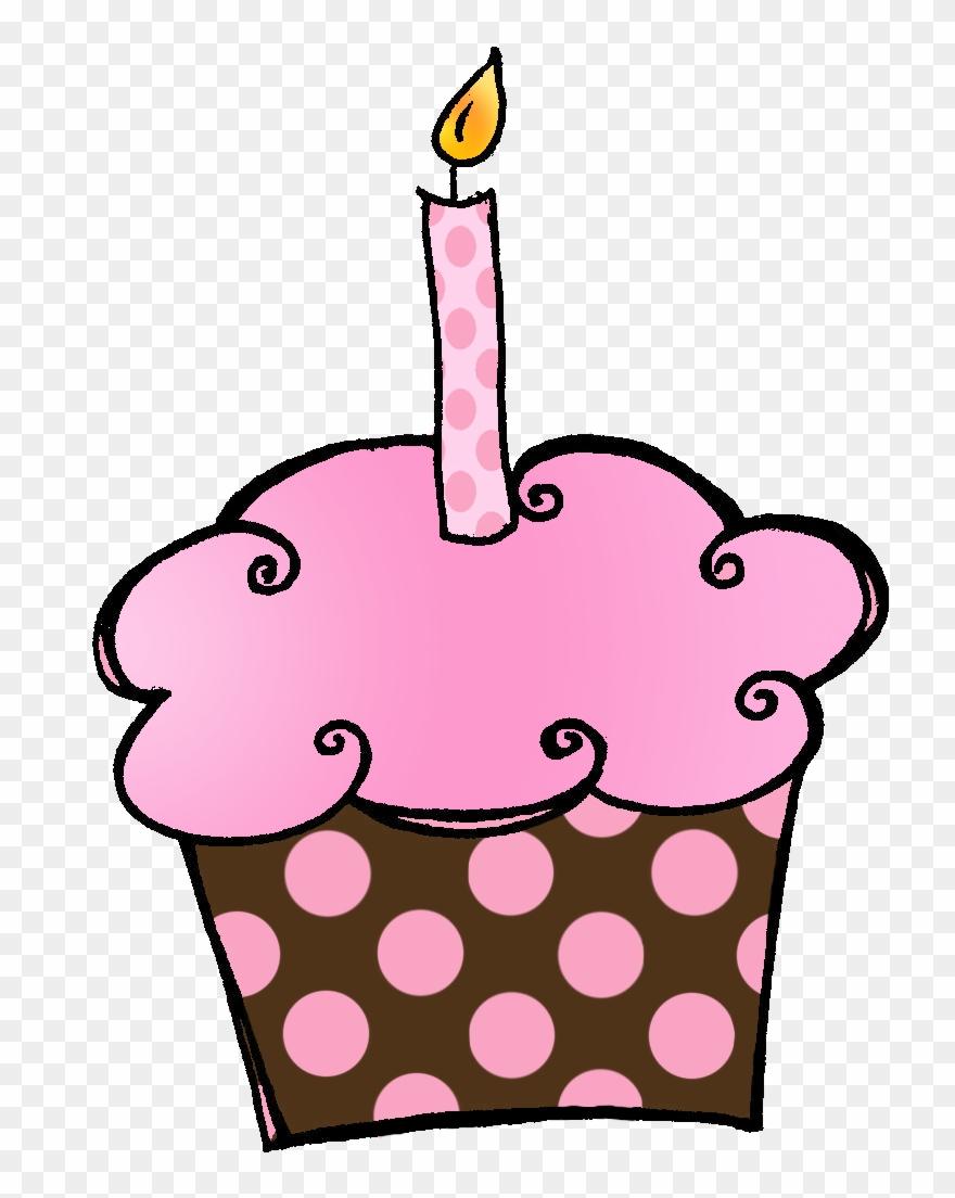 Birthday cake cupcake. Cupcakes clipart it s