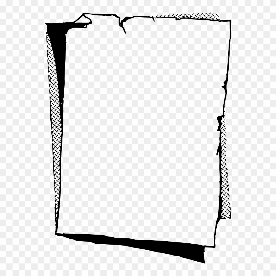 Free Old Paper Frame Paper Frames Black And White Clipart 183506 Pinclipart