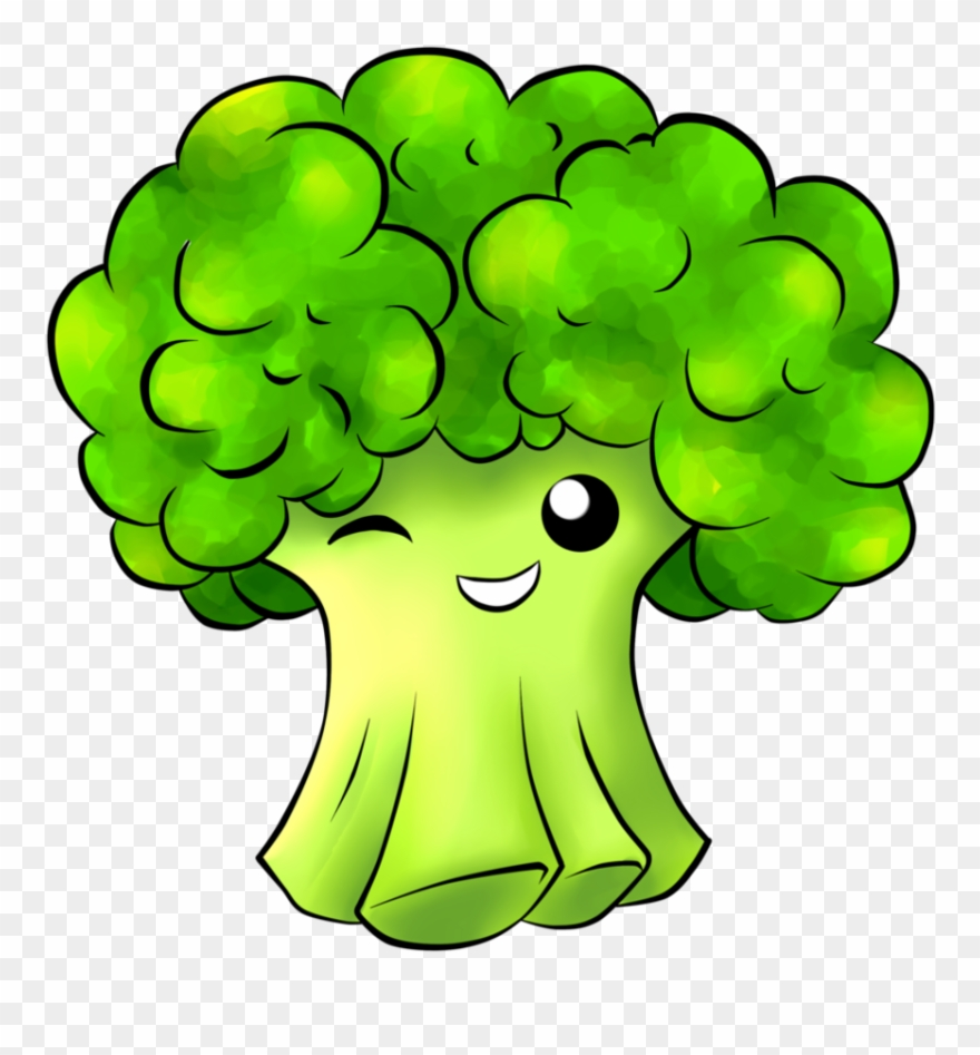 View Transparent Broccoli Vector