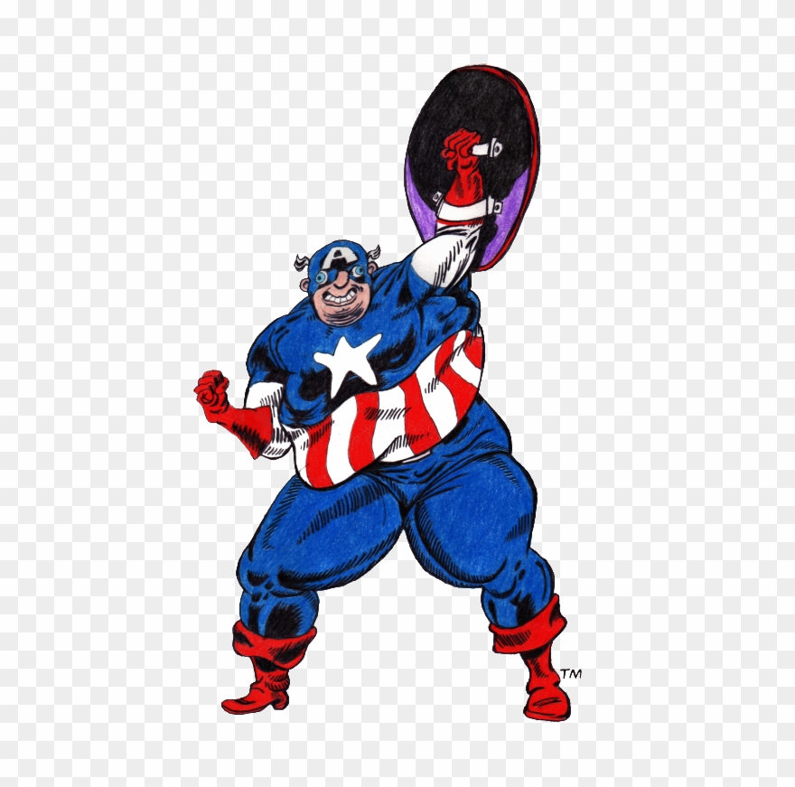 Captain america simple. Vector st place