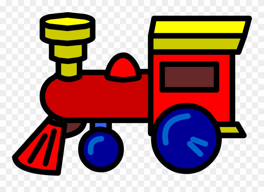 Locomotive Clipart Toy Train Clipart Toy Train Png Download 185801 Pinclipart