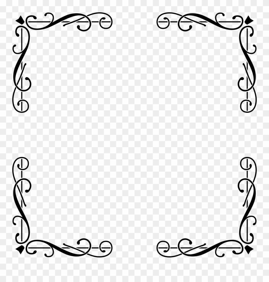 Borders elegant. Big image border design
