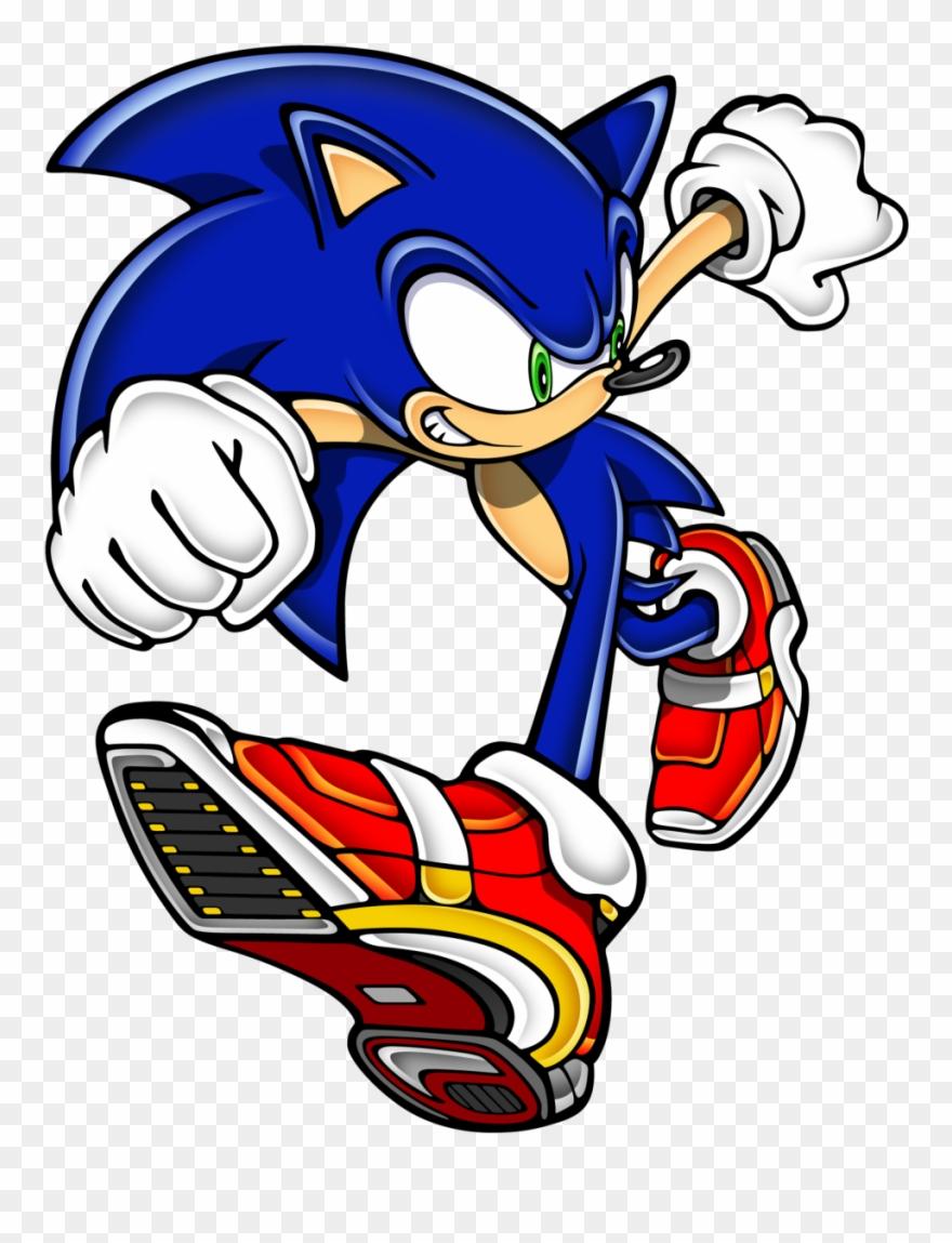 60572952 Sonic Adventure 2 Art Clipart 188597 Pinclipart