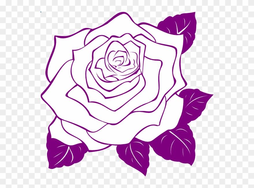 Download Rose Outline Png Clipart Clip Art Rose Graphics Rose