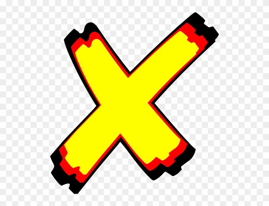 Letter X-images - Letter X Cartoon Png Clipart