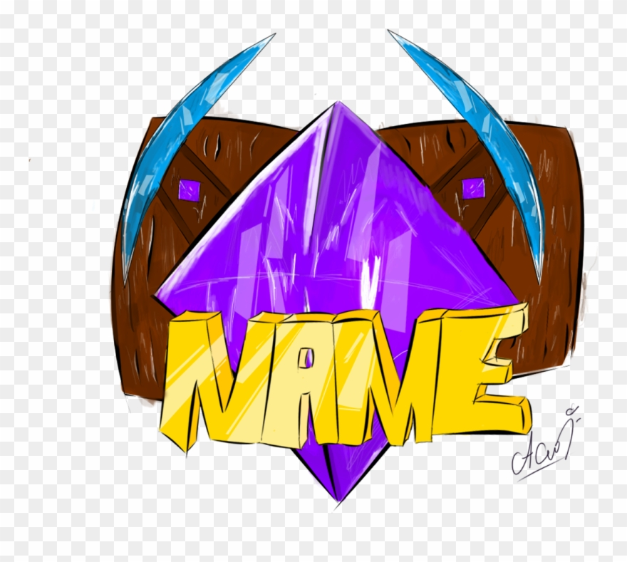 Minecraft Server Logo Png Logo Server Minecraft Free Clipart 1801018 Pinclipart