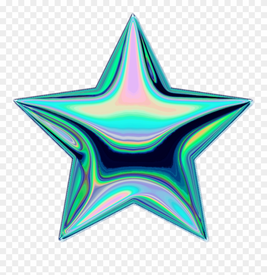 Star Holo Holographic Tumblr Vaporwave Aesthetic Colorf Estrella