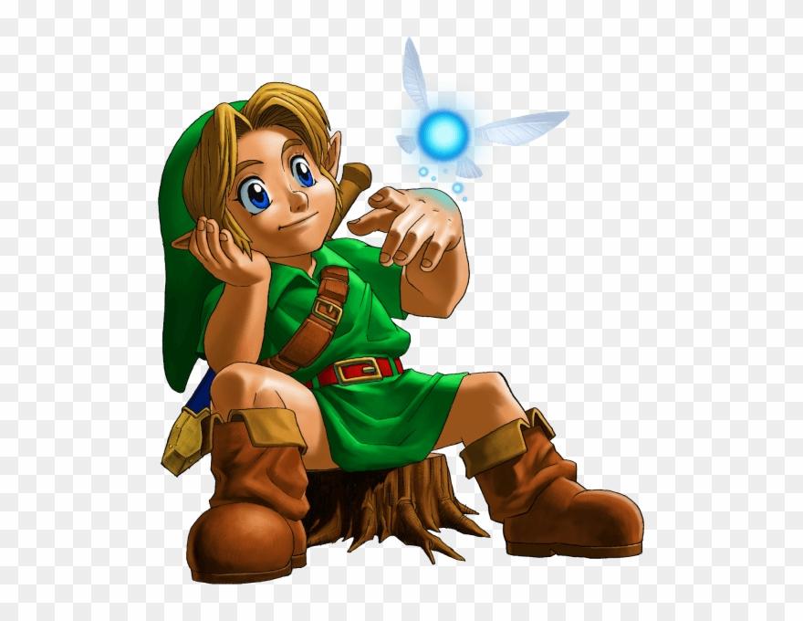Young Legend Of Zelda Ocarina Of Time Concept Art Clipart