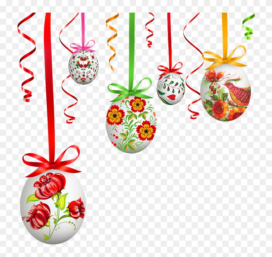 Easter, Egg, Pysanka, Easter Eggs - Easter Hanging Egg Transparent Clipart