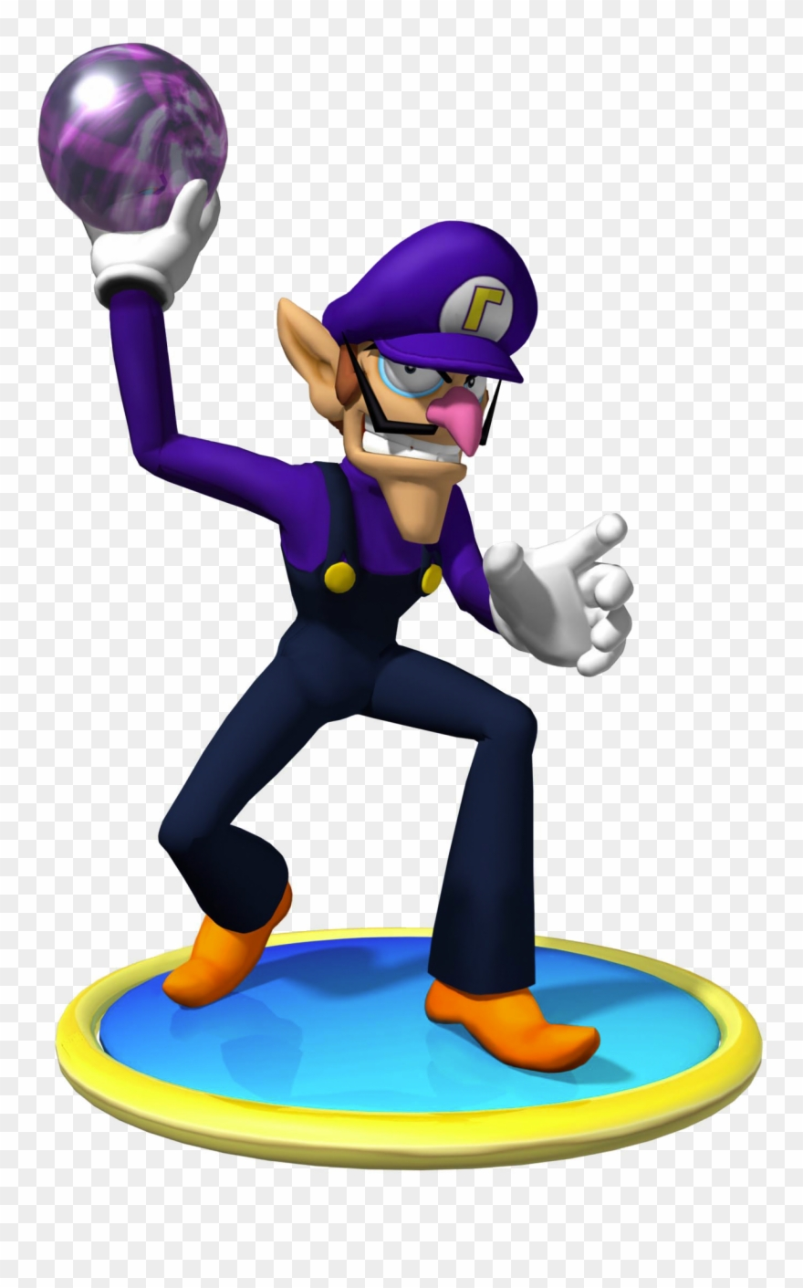 Waluigi high resolution. M render clipart pinclipart