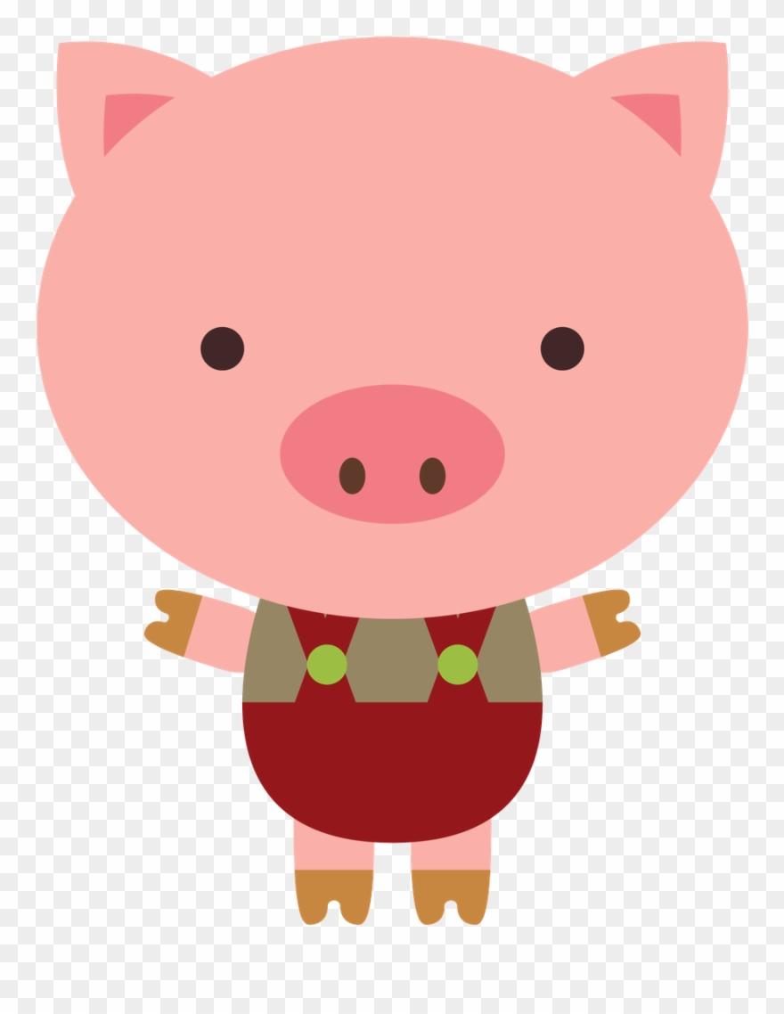 Minus Pig Illustration 3 D Clipart Art Plastique Tres Porquinhos Png Transparent Png 1826497 Pinclipart