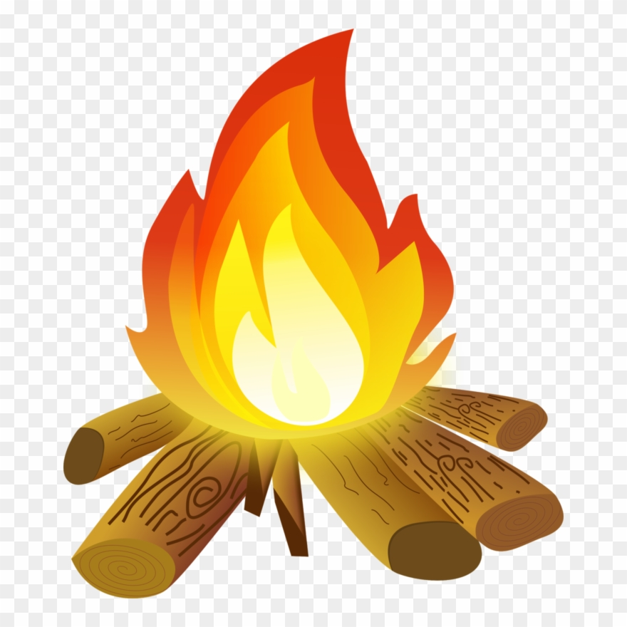 Campfire. Clipart images fire png