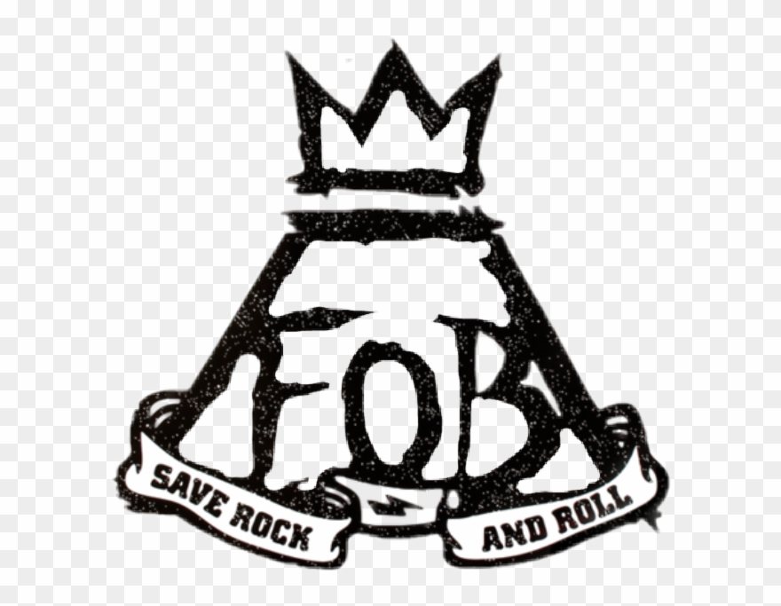 Fall Out Boy Save Rock And Roll Logo Clipart