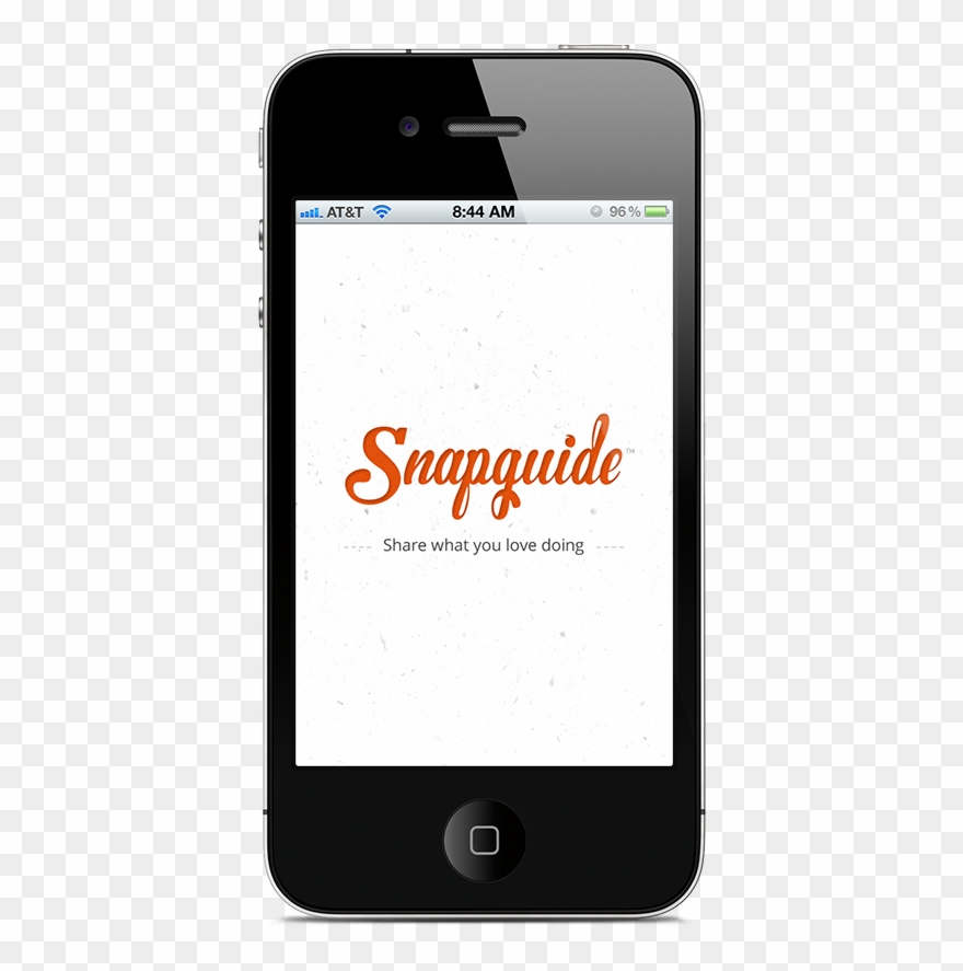 Original Snapguide Iphone App - Iphone 4 Clipart (#1841263) - PinClipart