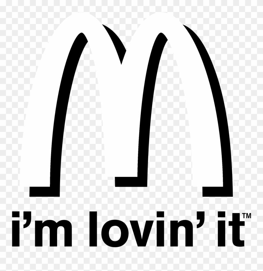 Mcdonalds Im Lovin It Logo Black And White Logo De