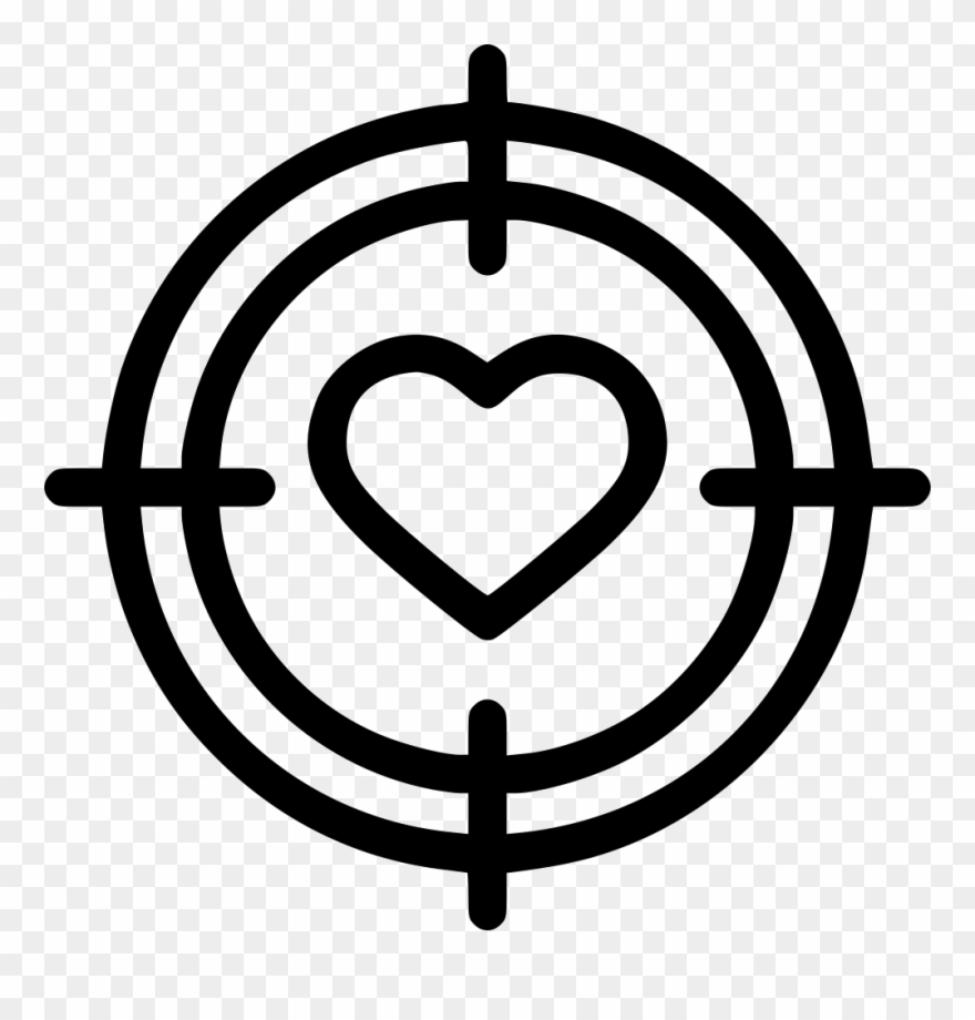 Heart Arrow Rubber Stamp - Dil With Arrow Clipart (#1157990) - PinClipart