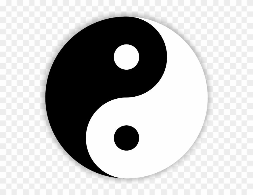 Peace Symbol Clipart Japan - Yin Yang Png Transparent Png