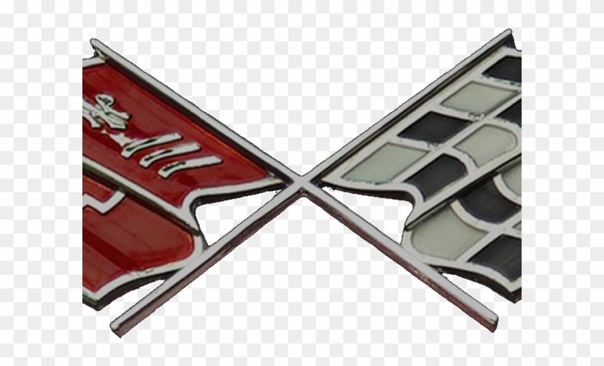 Logo Clipart Corvette - 1955 Chevy Emblem Transparent - Png