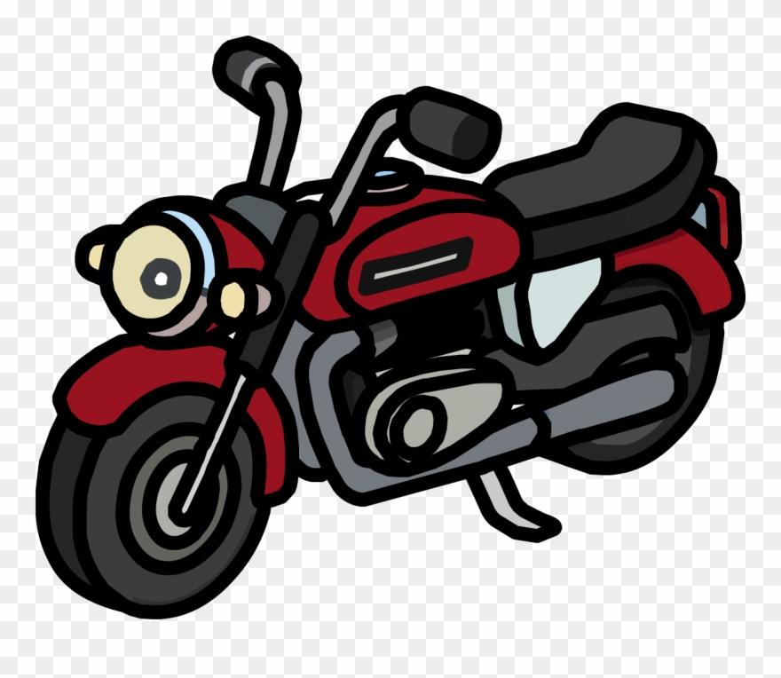 Motorbike Moto Club Penguin Clipart 1850867 Pinclipart