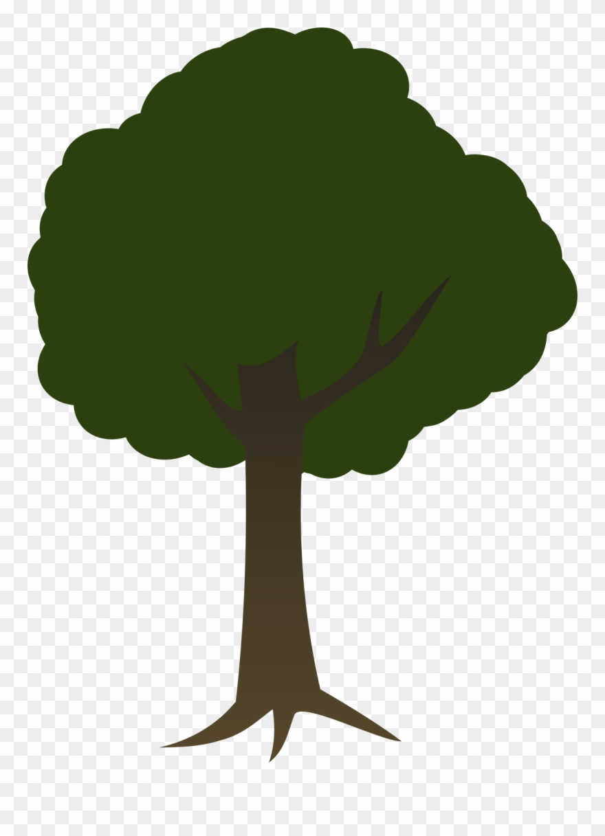 Trees transparent background. Tree d clipart pinclipart