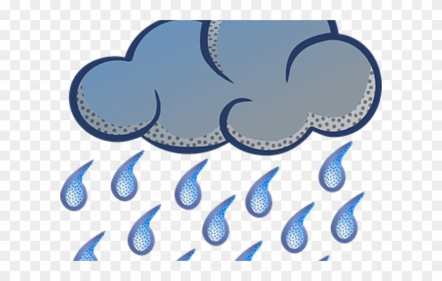 Rain transparent. Weather clipart monsoon season