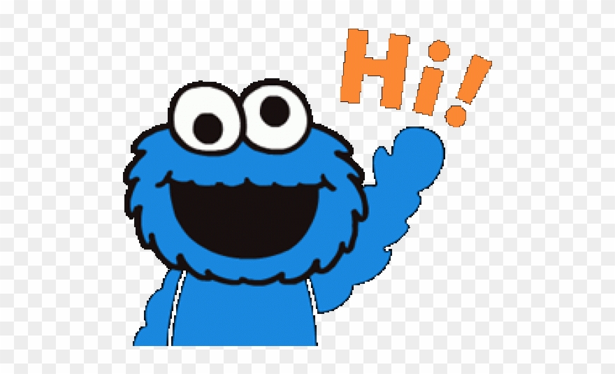 Cookie Monster Clipart Tumblr Transparent Cookie Monster