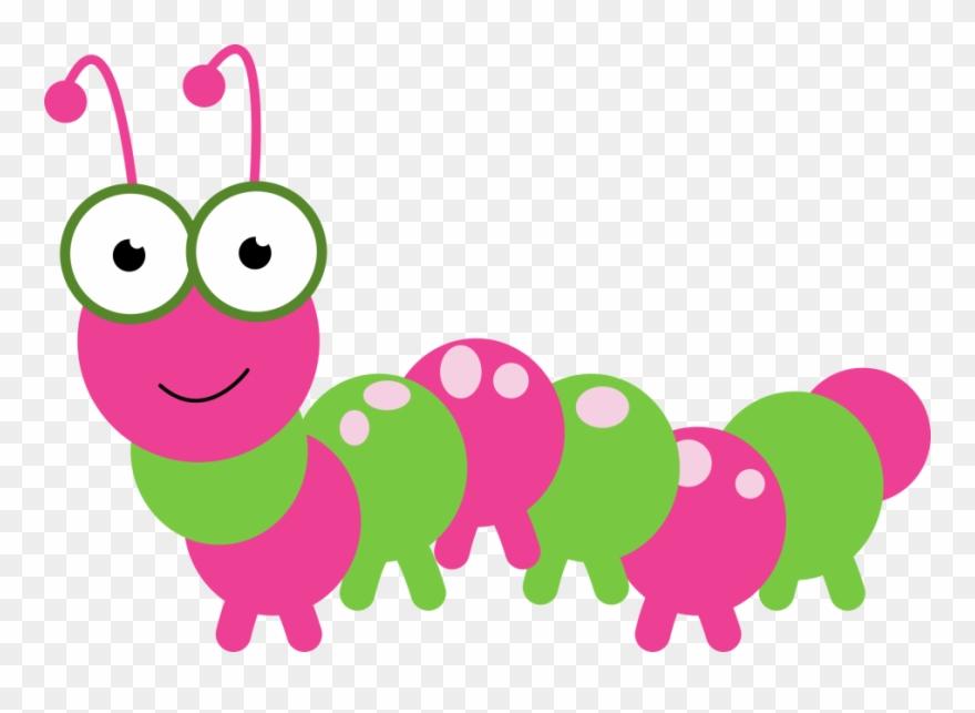 Caterpillar Clipart Pink Caterpillar Clipart Png Download