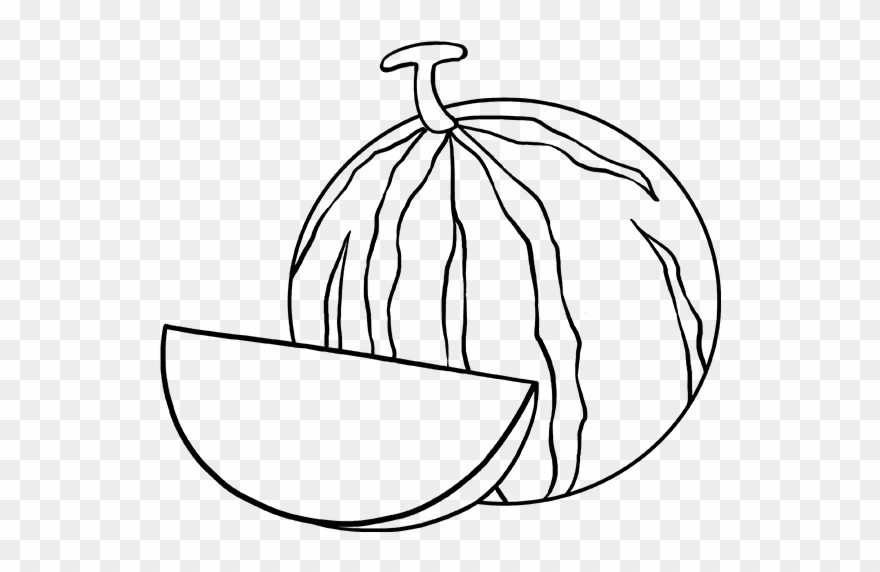 How To Draw Watermelon Slice Watermelon Drawing Clipart 1868668