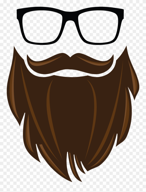 Brown beard. Hd clipart pinclipart