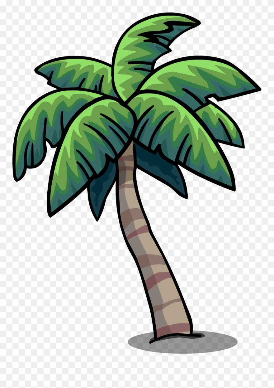Tropical Palm Sprite 003 - Cartoon Png Plam Tree Clipart (#1876654