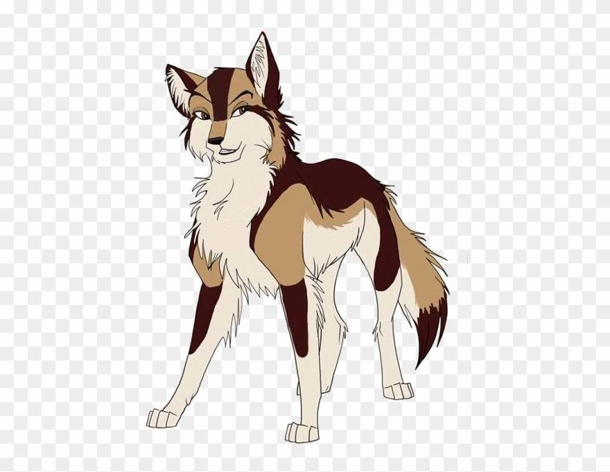 Wolf anime. Transparent werewolf torchlight brown
