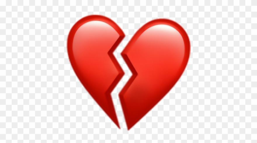 Sad emoji heartbroken. Heart broken brokenheart red