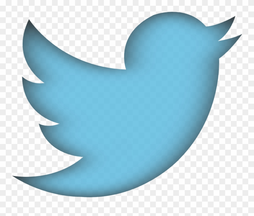Twitter social media. Png transparent images vector