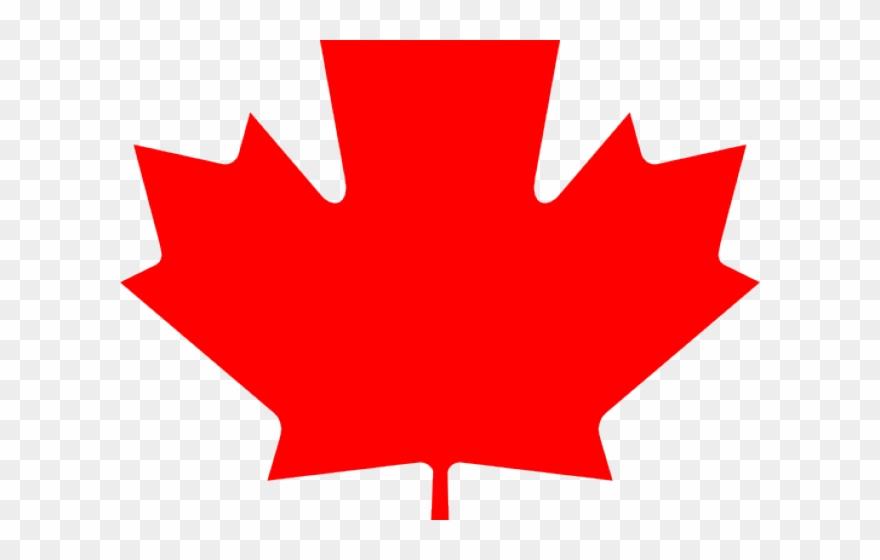 Leaf Clipart Canadian Canadian Maple Leaf Png Transparent Png 1886938 Pinclipart