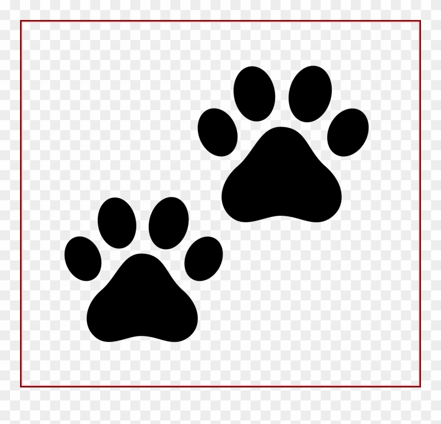 Best Cat Paw Drawing On Clipartmag Of Black And White Paw
