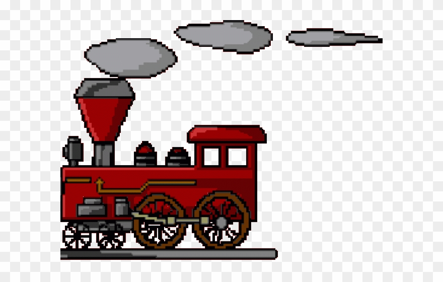 Locomotive Clipart Train Gif Etrain Info Png Download 1890238 Pinclipart