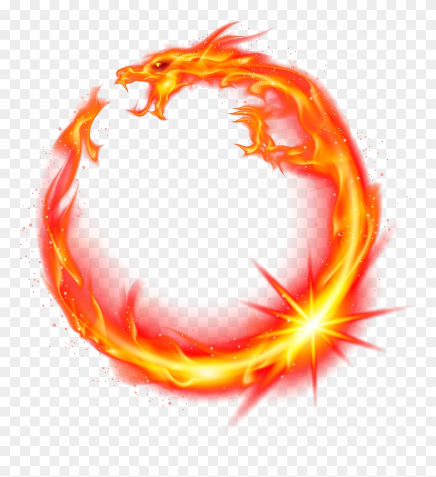 Fire red. Flame dragon logo png