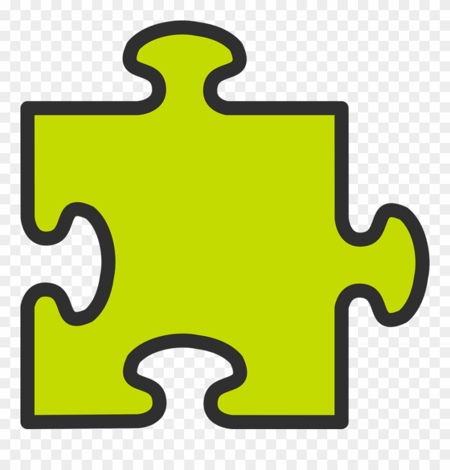 Puzzle piece. Clipart jigsaw puzzles clip