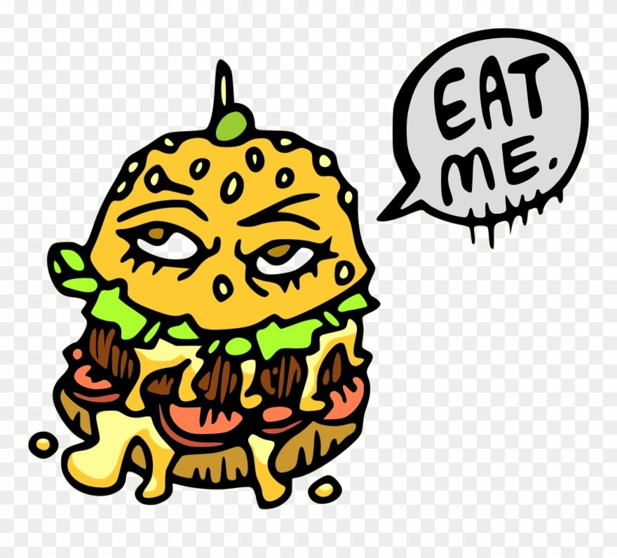 Hamburger Cheeseburger Junk Food Fast Food - Burgers Clip Art - Png Download