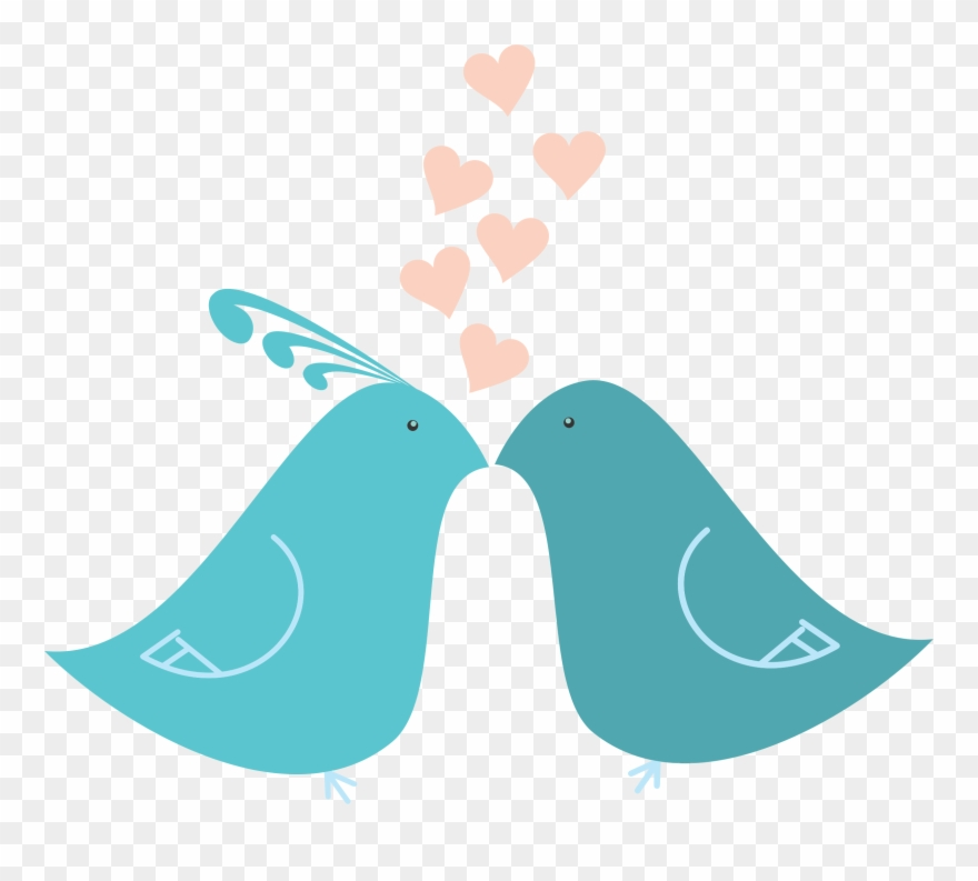Love - Love Birds Transparent Clipart (#196244) - PinClipart