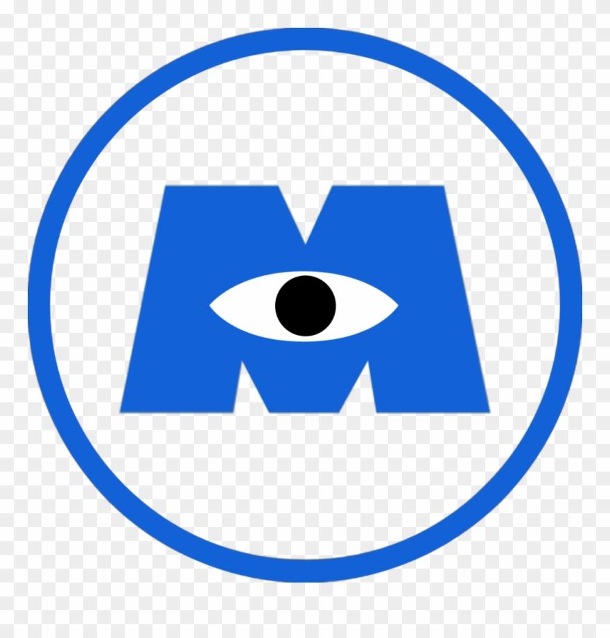 Monsters University Clipart Transparent Monsters Inc Logo Png 197016 Pinclipart