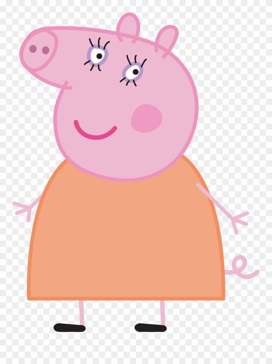 Mummy Pig Peppa Pig Transparent Png Imageu200b Gallery