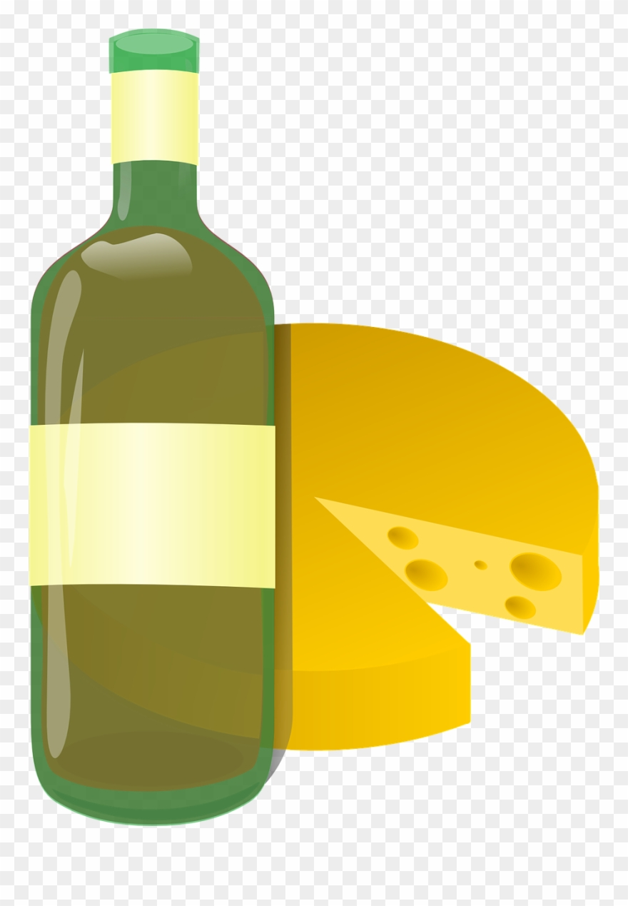 Onlinelabels Clip Art Wine And Cheese Cartoon Png Download 198216 Pinclipart