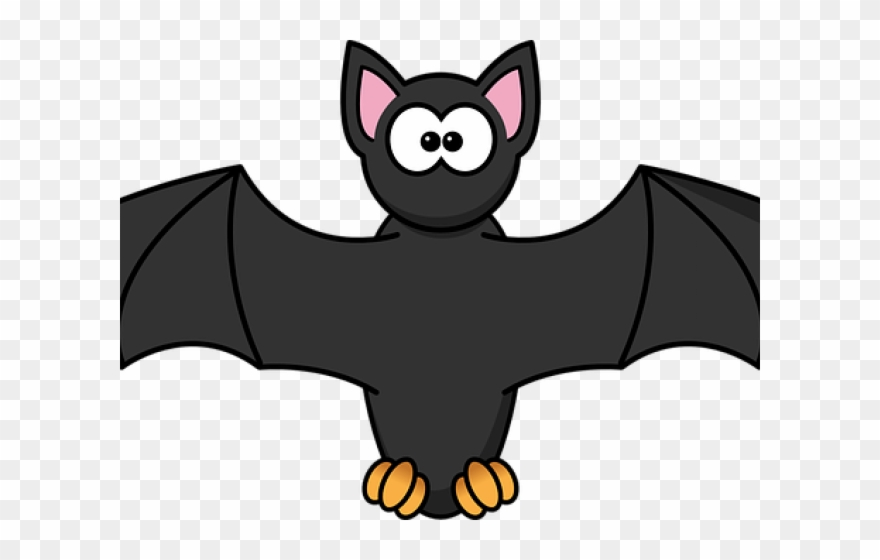 Vampire bat. Creepy clipart cartoon png
